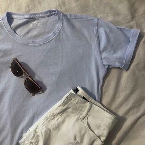Hollister Light Blue T Shirt